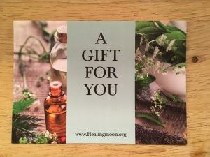 Healingmoon Massage Gift Voucher